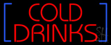 Red Cold Drinks Neon Sign