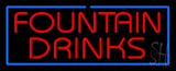 Fountain Drinks Neon Sign