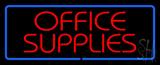 Office Supplies Neon Sign