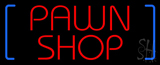 Red Pawn Shop Neon Sign