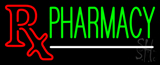 Green Pharmacy Neon Sign