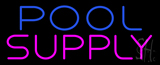 Blue Pool Pink Supply Neon Sign