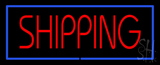 Shipping Blue Border Neon Sign