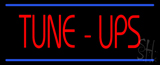 Tune Ups Double Line Neon Sign