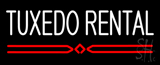 Tuxedo Rental Block Neon Sign