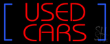 Used Cars Neon Sign