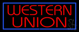 Western Union Neon Sign