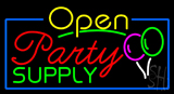 Party Supply Open Neon Sign