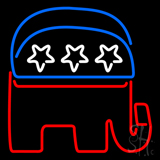Gop Elephant Republican Party Neon Sign
