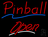 Pinball Open Neon Sign