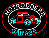 Hotrodders Garage Beer Neon Sign