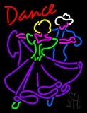 Dancing Couple Dance Neon Sign