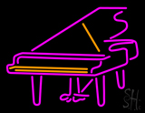 Piano Logo Neon Sign