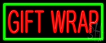 Gift Wrap Neon Sign