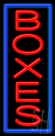 Boxes Neon Sign