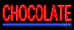 Chocolate Neon Sign