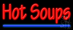 Hot Soups Neon Sign