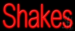 Shakes Neon Sign
