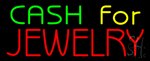 Green Cash For Jewelry Neon Sign