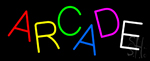 Multicolored Arcade Neon Sign