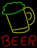 Beer Mug Red Beer Neon Sign