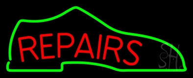 Repair Shoe Neon Sign
