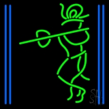 Lord Krishna With Line Neon Sign
