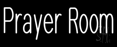 Prayer Room Neon Sign