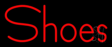 Red Shoes Neon Sign