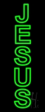 Vertical Jesus Neon Sign