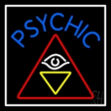 Blue Psychic Logo Neon Sign