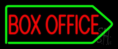 Box Office Block Neon Sign