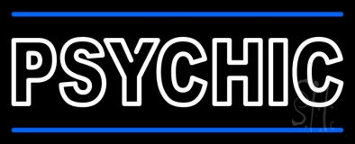 Double Stroke Psychic Neon Sign