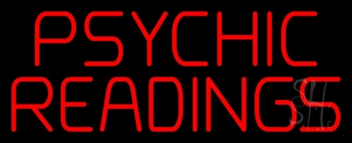 Red Psychic Readings Neon Sign