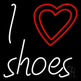 I Love Shoes Neon Sign