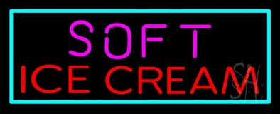 Soft Ice Cream Neon Sign