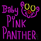 Baby Pink Panther Neon Sign