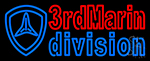3rd Marine Division Neon Sign