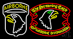 Airborne Division Screaming Eagle Neon Sign