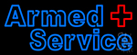 Armed Service Neon Sign