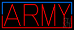 Army Neon Sign