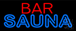 Bar And Sauna Neon Sign