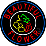 Beautiful Flowers Neon Sign