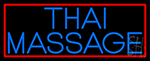 Blue Thai Massage Neon Sign
