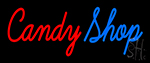 Cursive Candy Shop Neon Sign