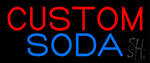 Custom Soda Neon Sign