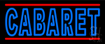 Double Stroke Cabaret Neon Sign
