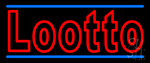 Double Stroke Lotto Neon Sign