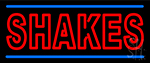Double Stroke Shakes Neon Sign