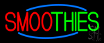 Double Stroke Smoothies Neon Sign
